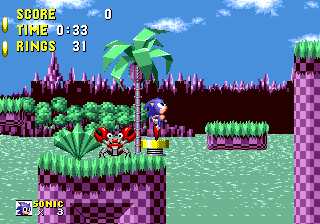 Sonic 1 The Blue Blur